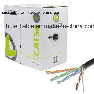 Good Market Network Cable 4 Pairs 2cores Twisted UTP Cat5e pictures & photos
