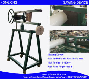 PTFE Rod Sawing Device or PTFE Rod Cutting Machine pictures & photos