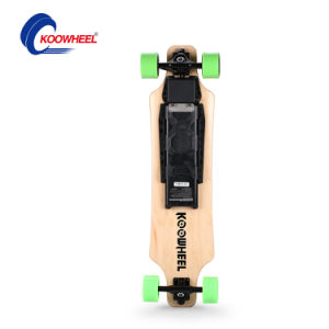 Dual 500W Hub Motor Electric Skateboard with 100% Canadian Maple pictures & photos