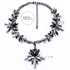 Fashion Colorful Rhinestone Crystal Choker Necklace Jewelry pictures & photos