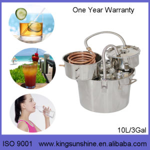 Kingsunshine 30L/8gal Stainless Steel Distiller, Herbs/Rose/Lavendor Hydrolat DIY Distillation Equipment pictures & photos