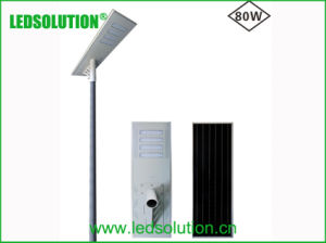 80W High Power All in One Solar LED Light for Street Lighting pictures & photos