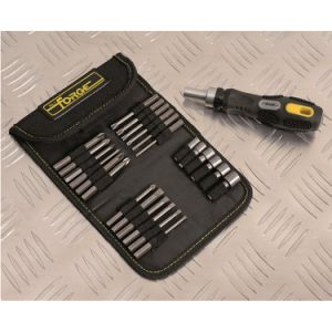 26PCS Multifunctional Hand Tools Cr-V Steel Ratchet Screwdriver & Bits Set pictures & photos