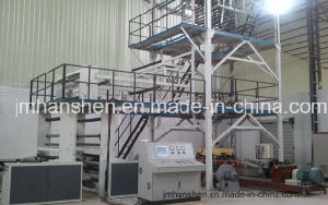 Three Layers Co-Extrusion Film Blown Processing Machine for PE Film pictures & photos