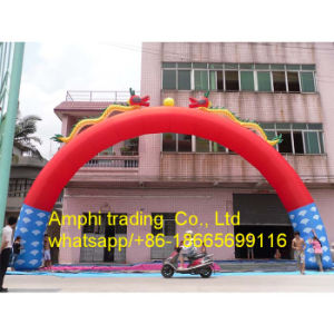 Round Shape Inflatable Archway, White Inflatable Arch for Advertising pictures & photos
