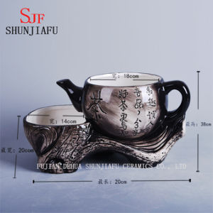 New Design Vintage Ceramic Loveseat Twin Flowerpot Flower pictures & photos