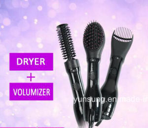 Popular Wholesale 3 in 1 Hot Air Styler Brush Rotating electric Hair Brush pictures & photos
