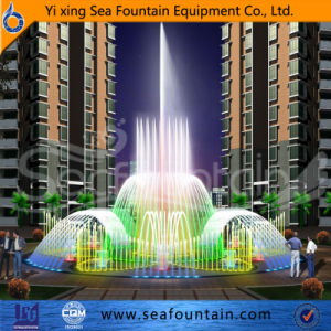 Stainless Colorful Multimedia Floor Fountain pictures & photos