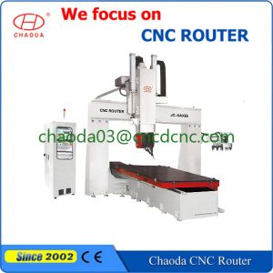 Jc-5axis Table Movement CNC Engraving Machines for Mold Making pictures & photos