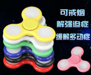 2017 Best Seller High Quality Relieves Stress and Anxiety Fingertip Gyroscope New Products LED Hand Spinners pictures & photos