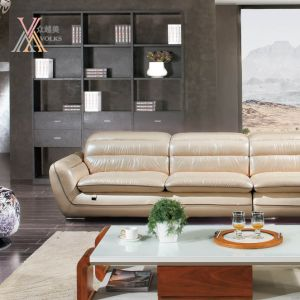 Leather Sofa with Corner (1239A) pictures & photos
