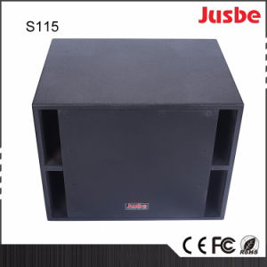 "OEM Factory Price S115 900W 15"" Subwoofer Speakers pictures & photos"