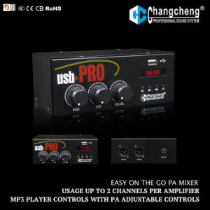 USB PRO MP3 Player, Low Cost PA Mixer pictures & photos
