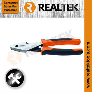 Professional Bi-Color Dipped Handles Comination Pliers pictures & photos
