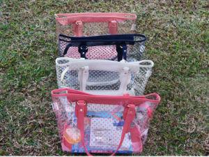 Plastic Clear PVC Beach Bag Beach Tote Shopping Bag pictures & photos