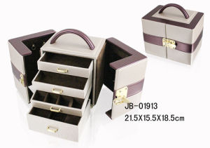 Luxury Design PU Leather Jewerlry Box pictures & photos