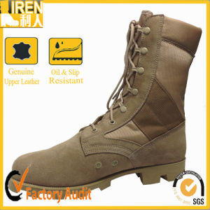 Breathable and Durable Tactical Military Desert Boots pictures & photos