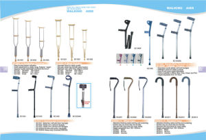 Aluminium Alloy Colorful Walking Stick Walking Cane pictures & photos