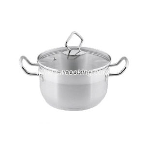 Stainless Steel Stock Pot with Ss Wire Handle and Knob pictures & photos