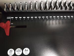 Comb Binding Machine (U-616) pictures & photos