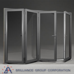 China Manufacturer Cheap Industrial Accordion Doors with Locks pictures & photos