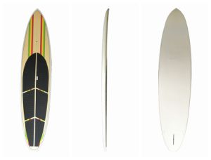 EPS Core Glassfibering Surface Stand up Paddle Surfboard 12′ pictures & photos