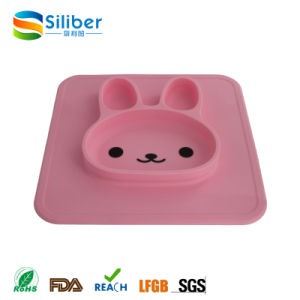 Wholesale Novelty Large Dining Table Silicone Placemat for Kids pictures & photos
