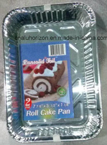 Healthy and Friendly Aluminum Roll Cake Pan pictures & photos