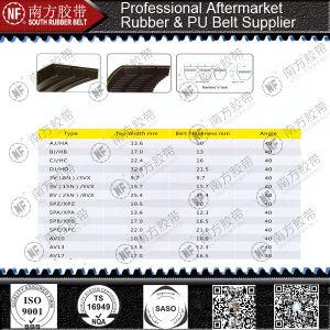 Combine Agricultural Harvester Banded Transmission Rubber V-Belt