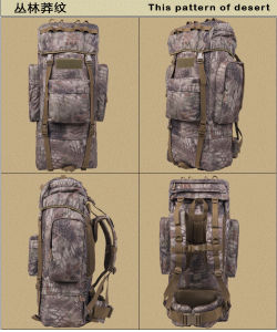 Multifunctional 1000d Nylon Water-Proof Hiking Tactical Backpack pictures & photos