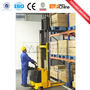 Electric Pallet Stacker with Max Load Capacity 2000kg pictures & photos
