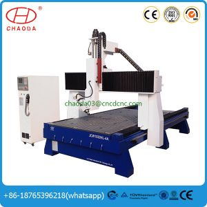 CNC Router with 4 Axis 180 Degree for 3D Carving pictures & photos