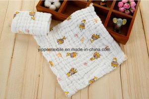 100% Cotton Muslin Burp Cloth Towel pictures & photos