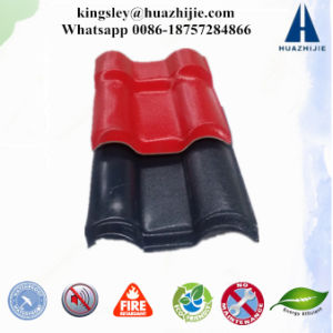 Anti-Corrosion Spanish Synthetic Resin Roofing Sheet ASA Roof Tiles Plastic Roof Materials pictures & photos