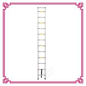 Single Telescopic Step Ladder Design En131-6 pictures & photos