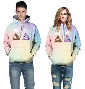 2017 Wholesale Sublimation Print Couple Sweatshirts (A599) pictures & photos
