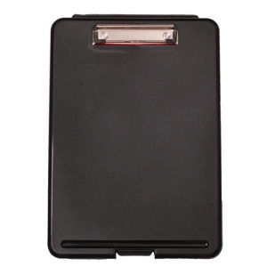Plastic Stationery Document Case Storage Box with File Clip pictures & photos