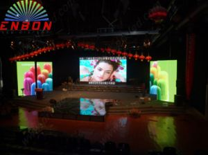 P3mm SMD 2121 Black Face Indoor LED Display Panel (SMD3 in 1) pictures & photos