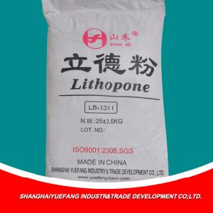 Factory Price Made in China Coating Raw Material Lithopone pictures & photos