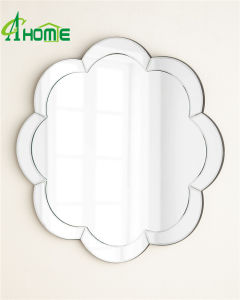Flower Shaped Modern Design Wall Mirror for Home Decor pictures & photos