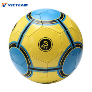 High Rebounce 1.8mm PVC Material 360-380g Football pictures & photos