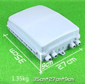 1X16 Fiber Optic Splitter Box for FTTH, Pole / Wall Mount Optical Fiber Distribution Hub pictures & photos