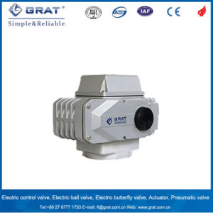Electric Power Drive Actuator for Rotary Valves pictures & photos