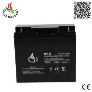 12V 17ah Rechargeable Mf VRLA Lead Acid Storage Battery