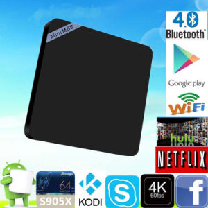 2016 Minim8sii S905X 1g 8g Kodi 17.0 TV Box pictures & photos