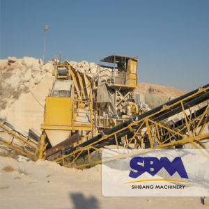 Large Capacity Wheeled Mobile Jaw Crusher Machine pictures & photos
