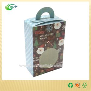 Cardboard Gift Box with Handle. (CKT-CB-440)