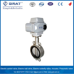 Big Flow Capacity Electric Butterfly Valve pictures & photos