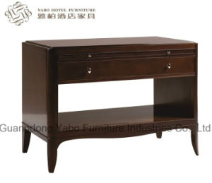 Living Room Solid Wood Bedside Table pictures & photos