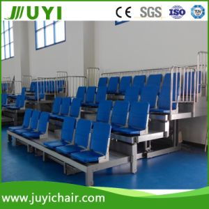 Telescopic Grandstand Mobile Retractable Seating System Telescopic Folding Bleacher Grandstand Jy-769 pictures & photos